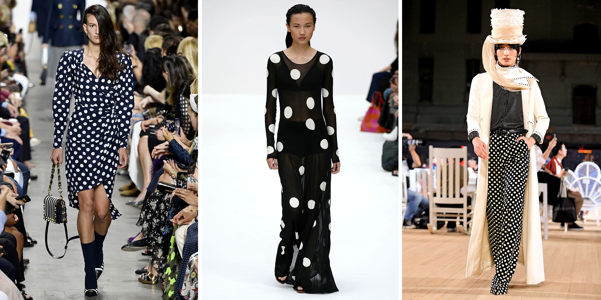 Polkadots Are Taking Over the Spring 2020 Runways