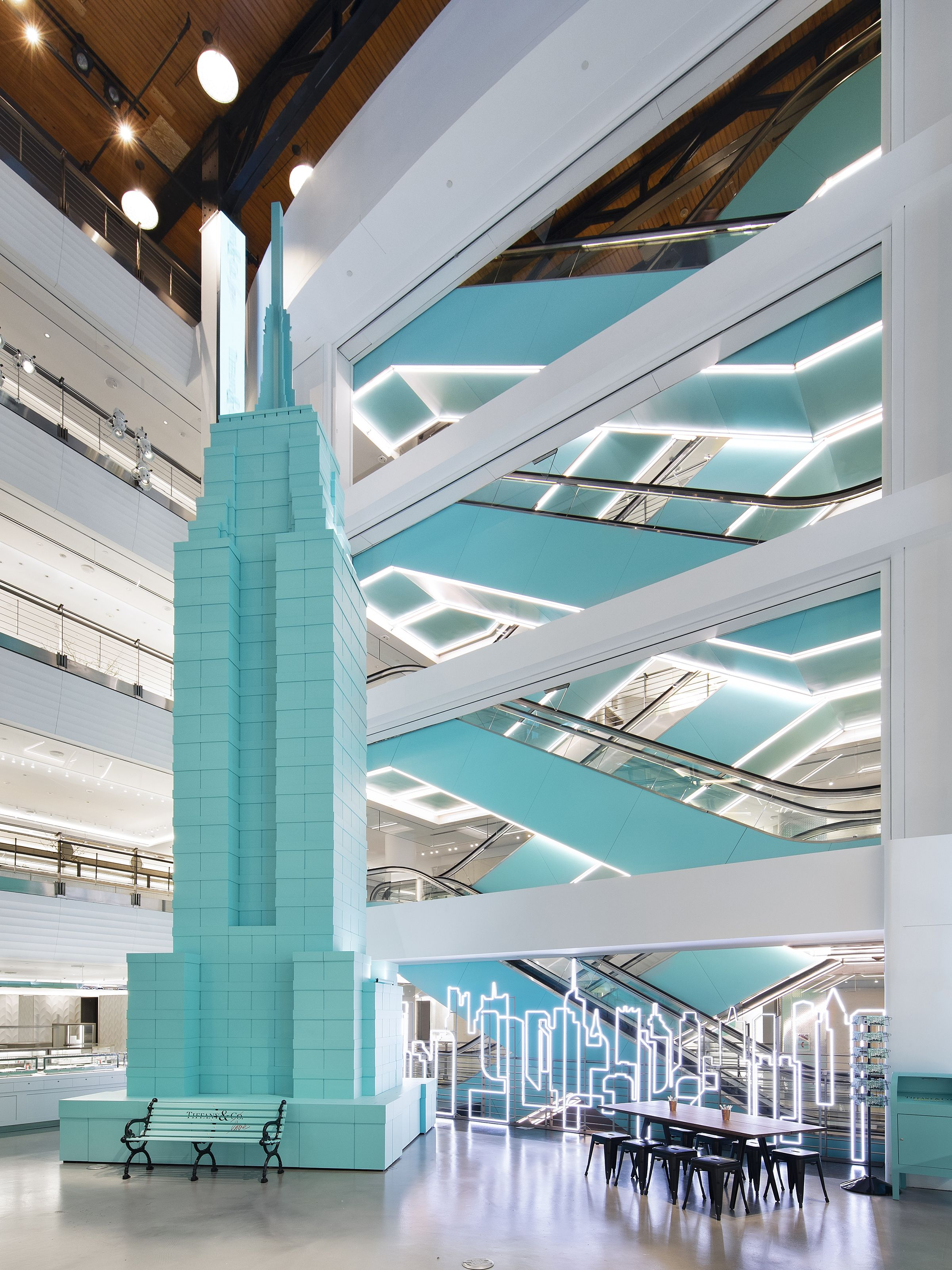 Tiffany & Co.'s Interim Store Is Chic All On Its Own