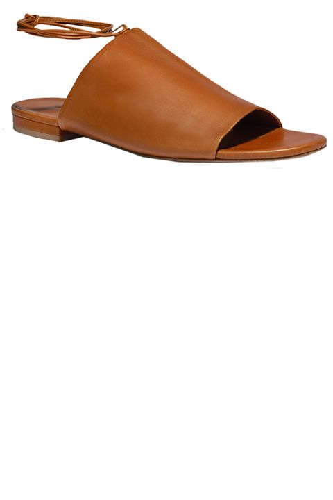 Footwear, Tan, Brown, Slingback, Shoe, Sandal, Beige, Leather,