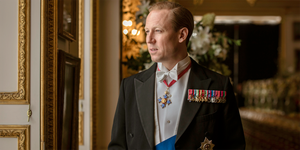 Tobias Menzies as Prince Philip on The Crown.