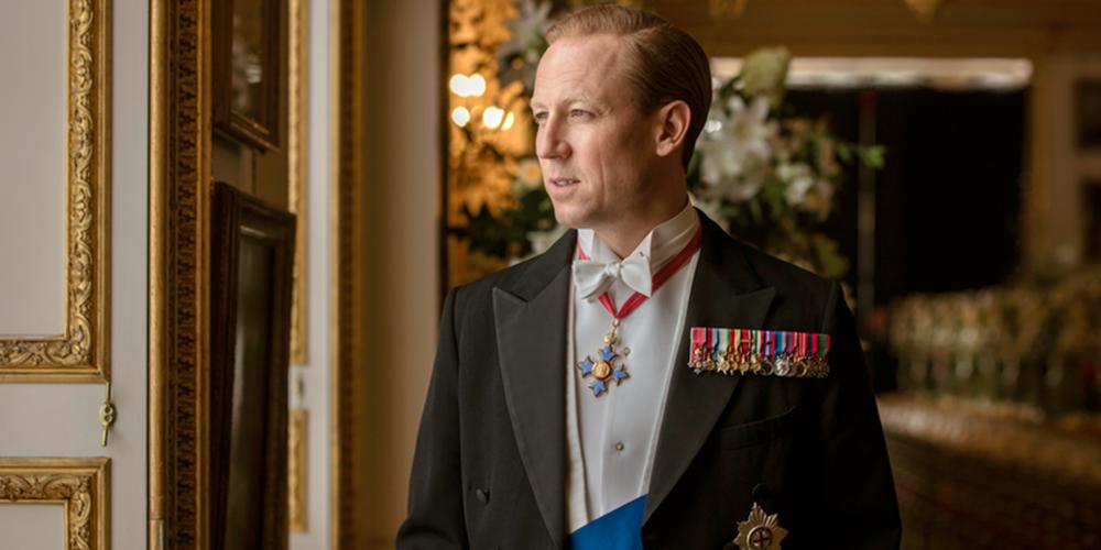 Tobias Menzies as Prince Philip onThe Crown.