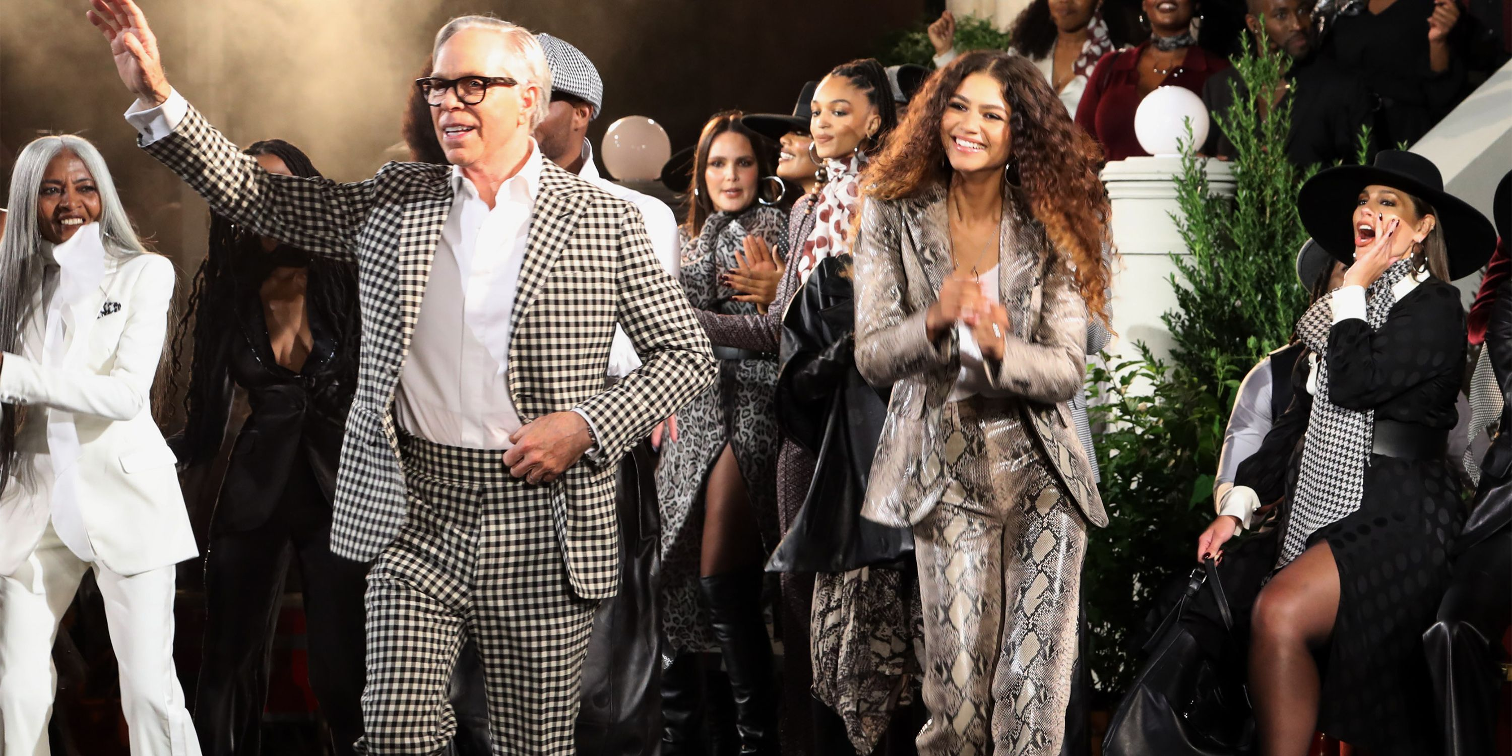 Zendaya and Tommy Hilfiger Show at Harlem's Apollo Theater