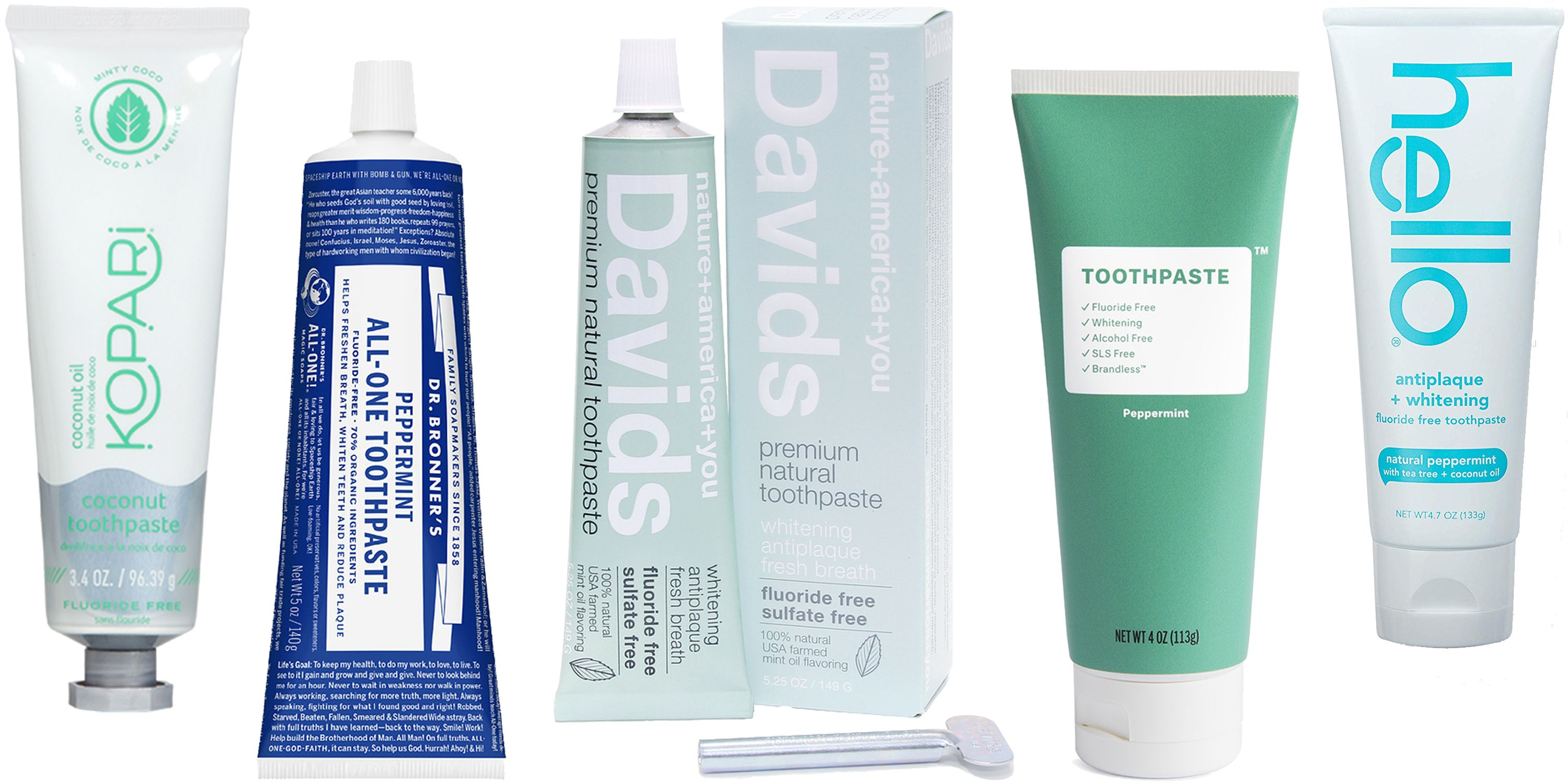 The Best Natural and Organic Toothpastes