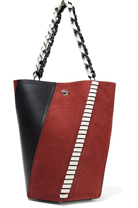 Product, Brown, Textile, Photograph, Red, White, Bag, Style, Fashion accessory, Shoulder bag,