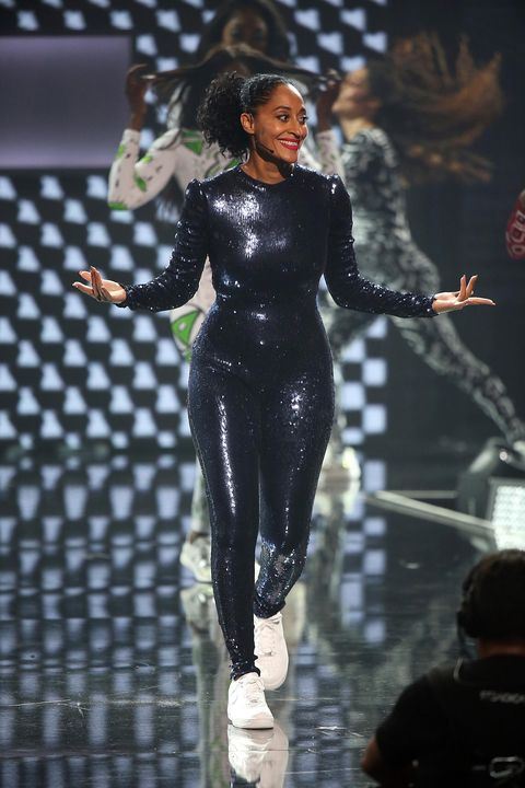 4ecfd254242c Tracee Ellis Ross Wore 12 Different Looks to the AMAs, All By Black ...