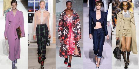 Fashion model, Clothing, Fashion, Plaid, Street fashion, Outerwear, Tartan, Human, Design, Pattern,