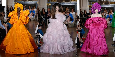 f87c57ed73d37 Valentino Couture 2019 Gowns - Kaia Gerber Valentino Couture Show 2019