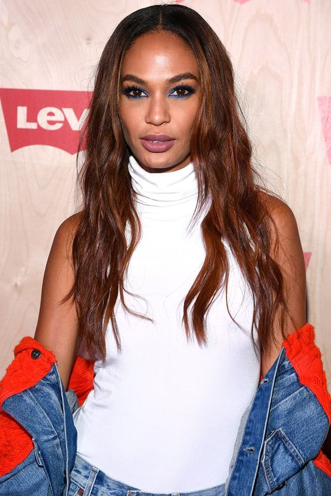 joan smalls Valentine's Day Hairstyles