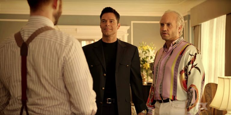 Image result for american crime story assassination of gianni versace Gianni and Antonio