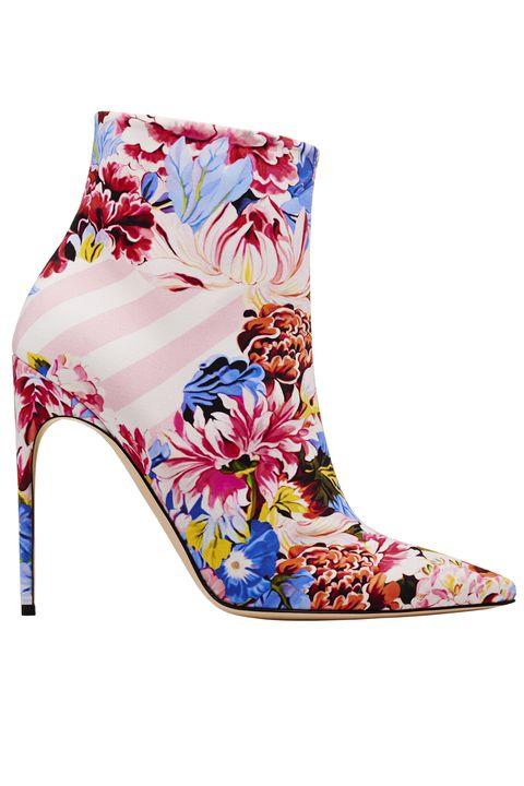 Footwear, Blue, Shoe, Boot, High heels, Leg, Fashion accessory,