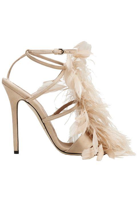 Footwear, High heels, Shoe, Bridal shoe, Slingback, Beige, Sandal, Court shoe, Basic pump, Dress shoe,