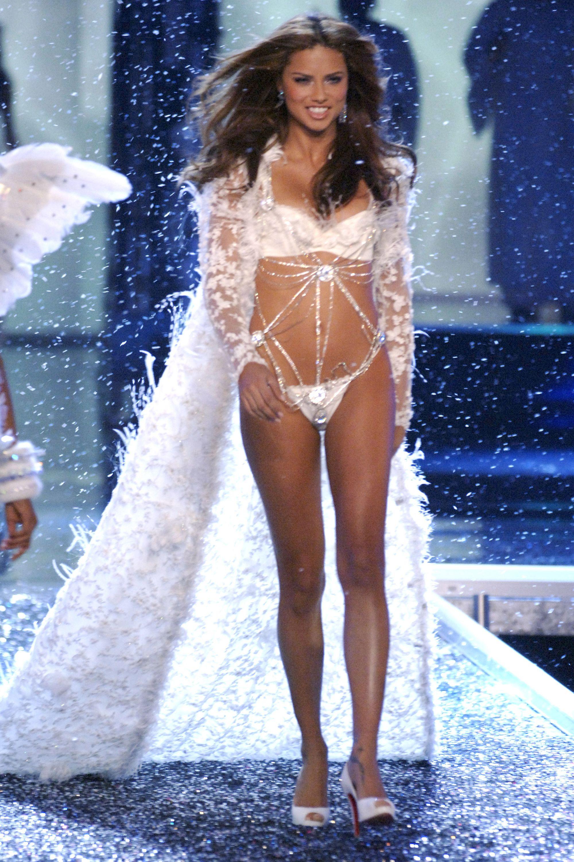 496048c43d355 Adriana Lima Victoria s Secret Fashion Show Photos Through the Years
