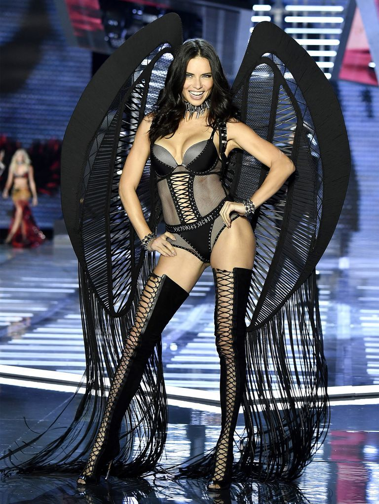 c6f3dcc3b0a Adriana Lima Victoria s Secret Fashion Show Photos Through the Years