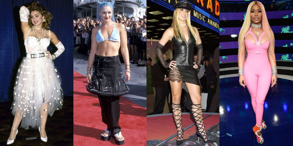 60 VMAs Fashion Moments We'll Never Forget