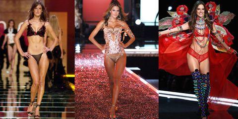 Fashion model, Clothing, Lingerie, Fashion, Fashion show, Model, Thigh, Leg, Public event, Event,