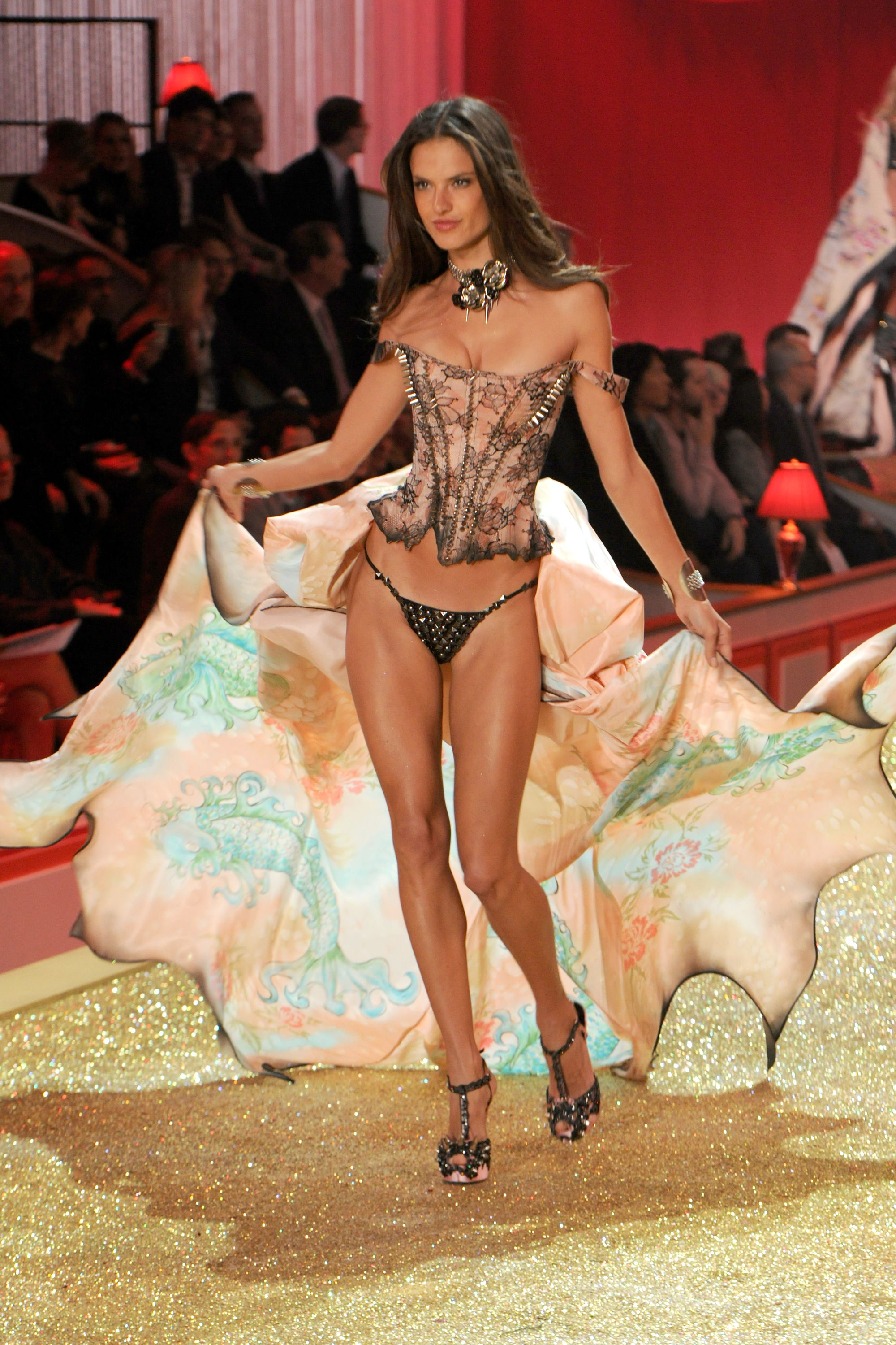 151bca0d1e29e Alessandra Ambrosio s Best Victoria s Secret Fashion Show Looks - Alessandra  Ambrosio s Last VS Fashion Show