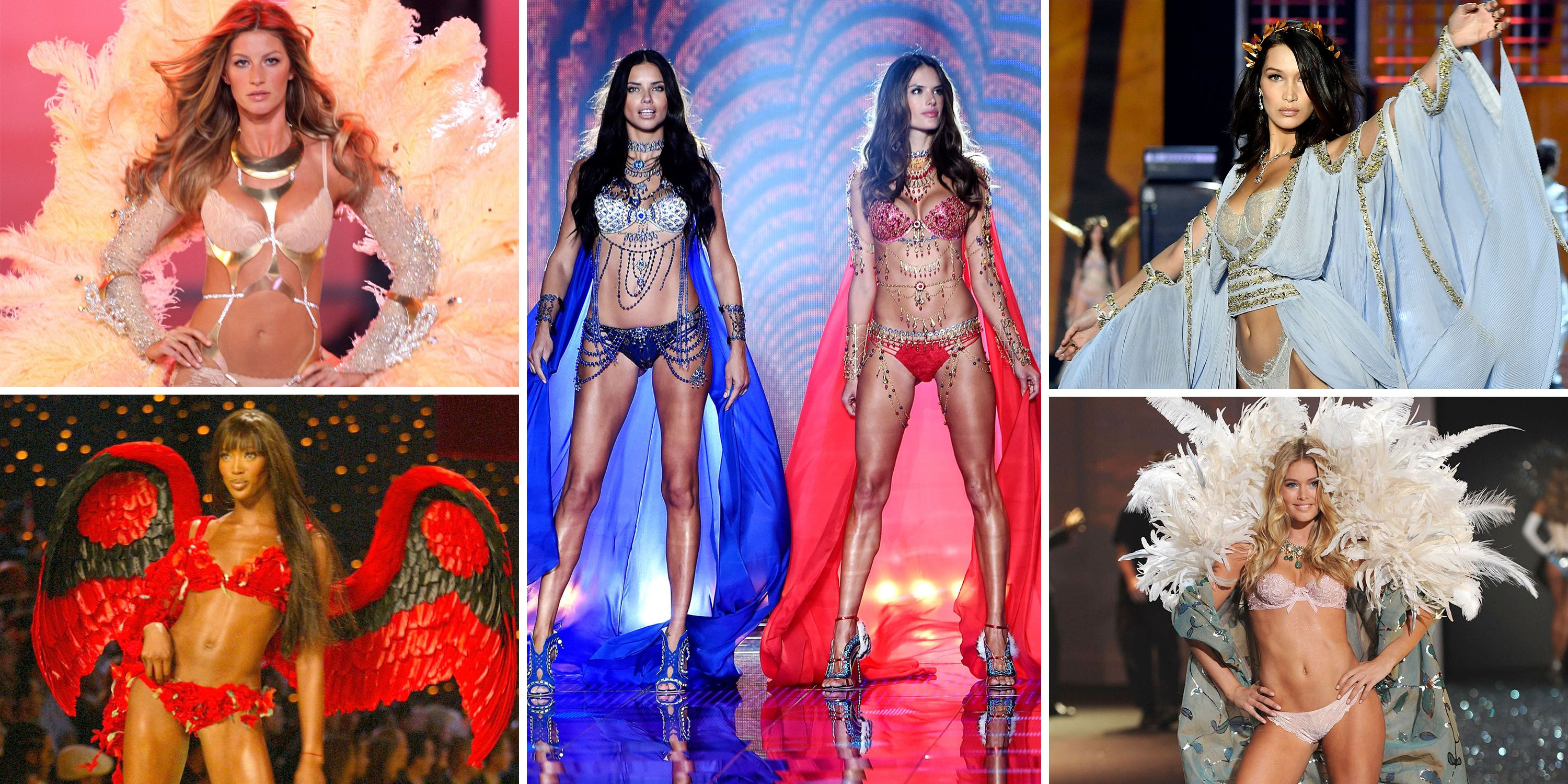 4d91efaa4903 Victoria's Secret Fashion Show History in Photos - Victoria's Secret ...