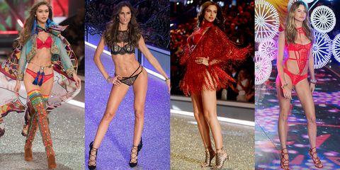 Fashion model, Clothing, Fashion show, Fashion, Thigh, Runway, Leg, Lingerie, Public event, Model,