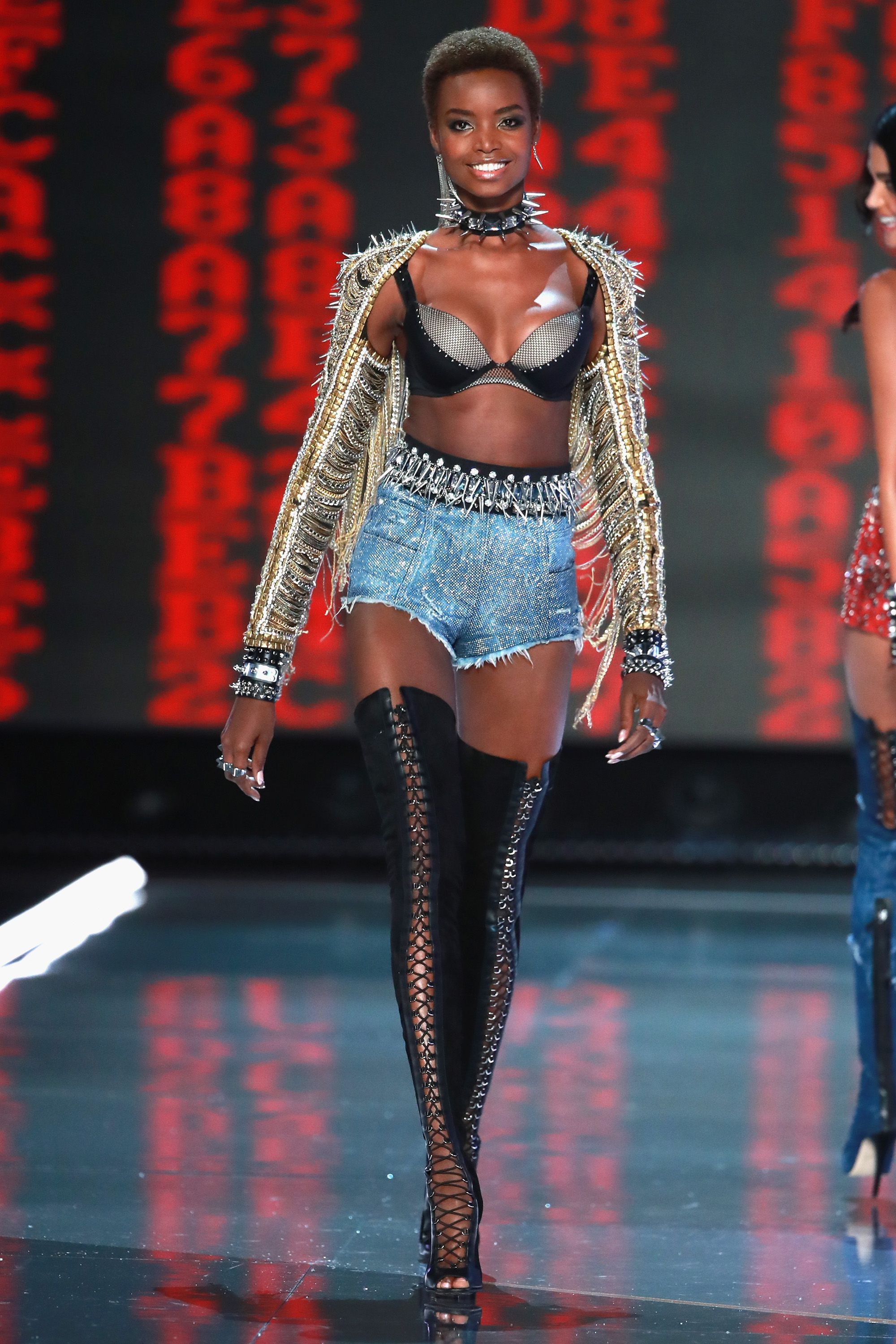 c53c5ccc See the Full Victoria's Secret x Balmain Collection - Every Look of the  Victoria's Secret x Balmain Collaboration