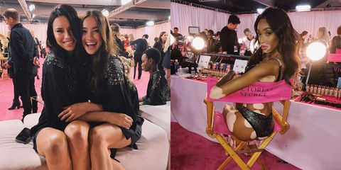 e6be4a2fca5 The Best Instagrams from the 2018 Victoria s Secret Fashion Show