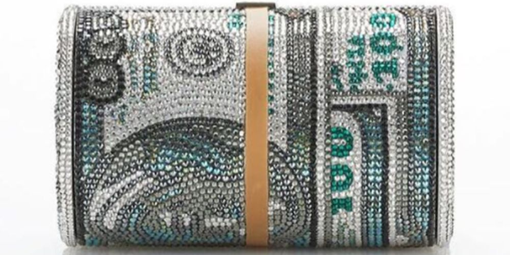 This New Alexander Wang Bag Looks Like A Stack Of $100 Bills, Costs $5,000