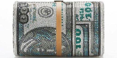44fbd10de Alexander Wang and Judith Leiber Collaborate On $100 Bill Bag ...