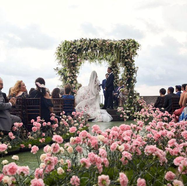 idées d'allée de mariage