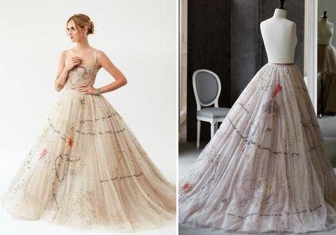 fdba3a8f03b Chiara Ferrangni s 3 Dior Couture Wedding Dresses Took 1