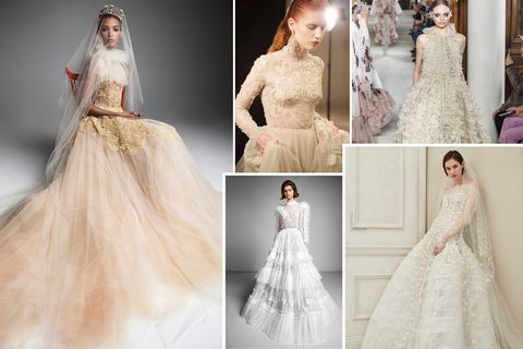 Wedding Dress Trends 2019 The It Bridal Trends Of 2019,Guest Wedding Dresses For October
