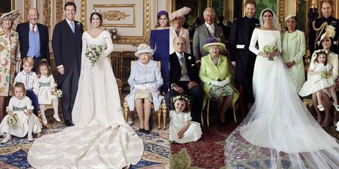 princess eugenie jack brooksbank s official wedding portraits compared to meghan harry princess eugenie jack brooksbank s