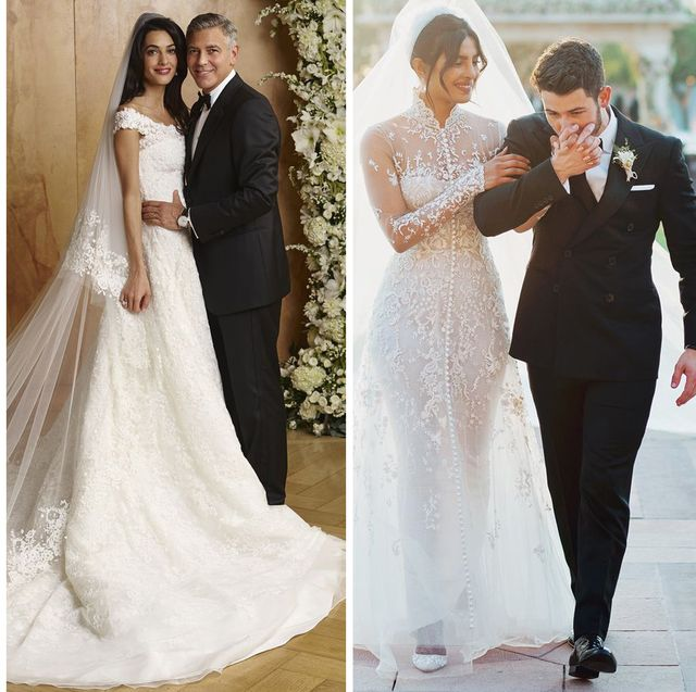 50 Iconic Celebrity Wedding Dresses Most Memorable Wedding Gowns In History