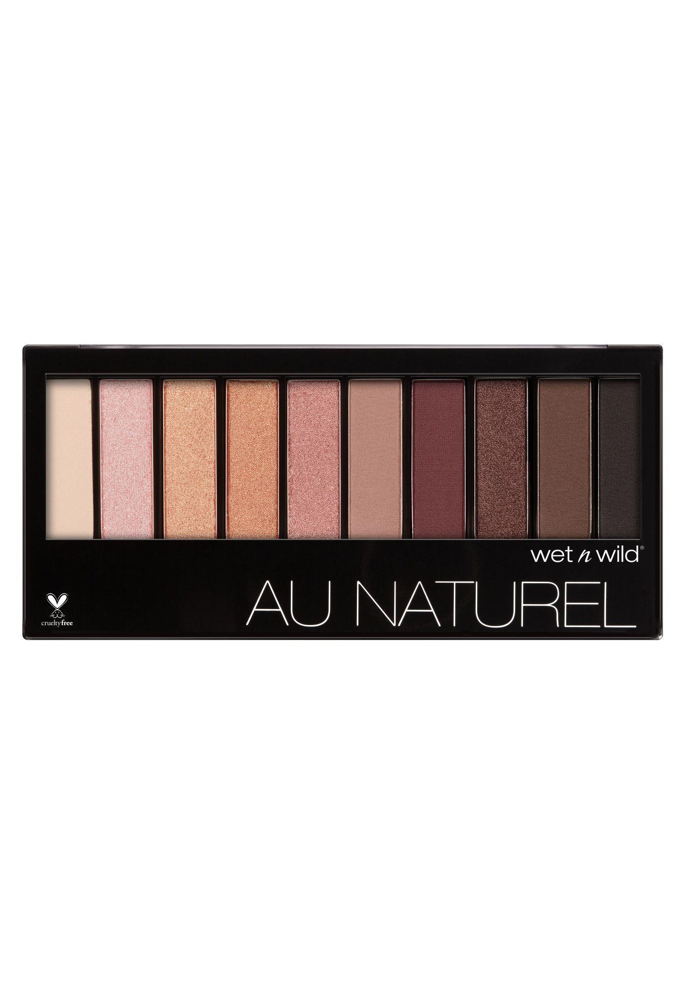 20 Best Eye Makeup Palettes Prettiest Eyeshadow For 2017 Wet N Wild Au Naturel Palette