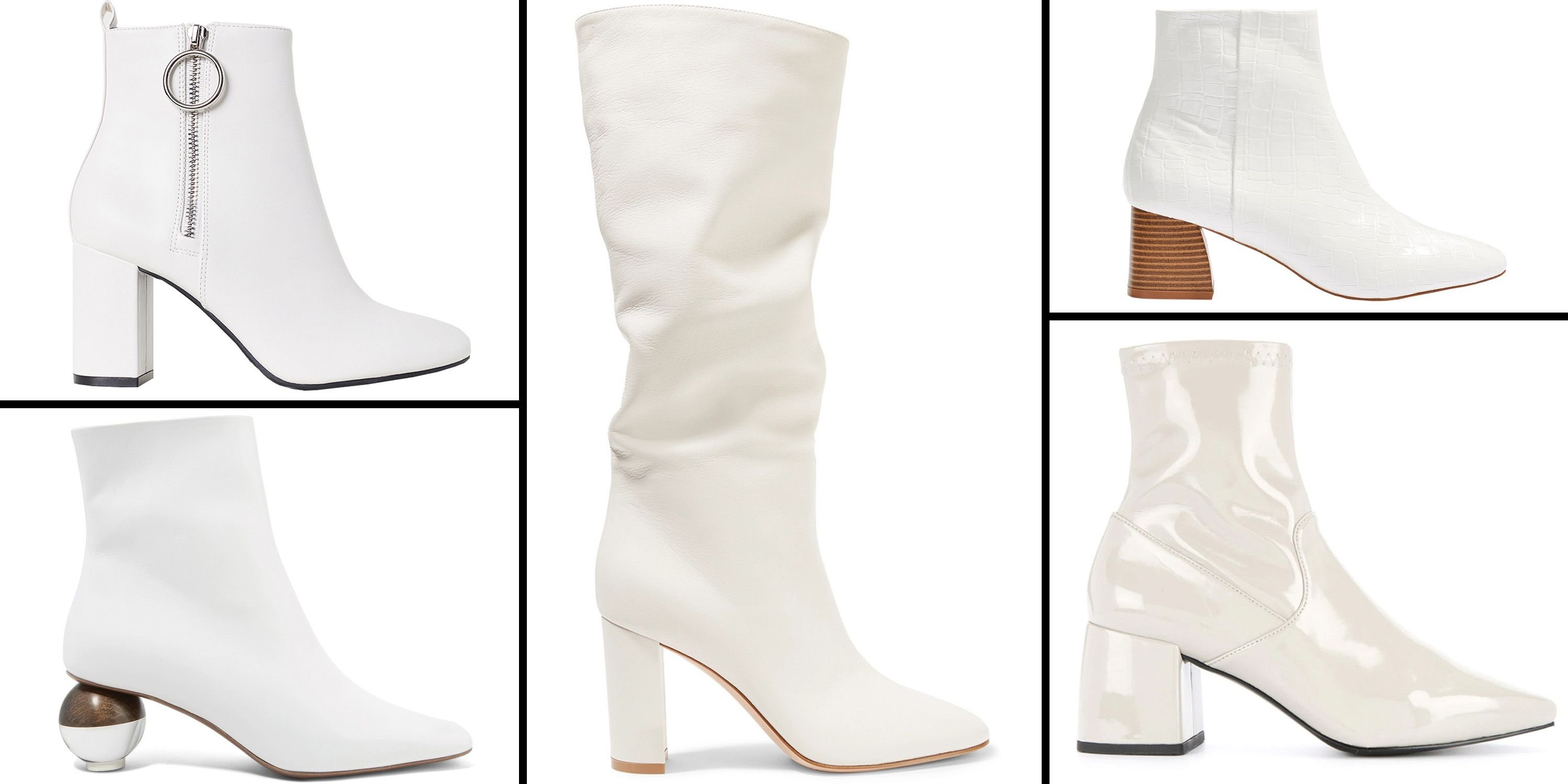 df6092f9bdf9e The 16 Best White Boots to Shop For Fall 2018 - White Boots for Women