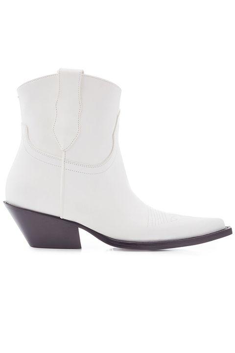 Footwear, White, Shoe, Boot, Beige, Leather,