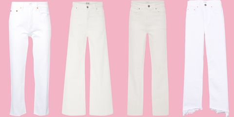 9f9eafa6e8d image. ShopBAZAAR. There s something about a pair of white jeans ...