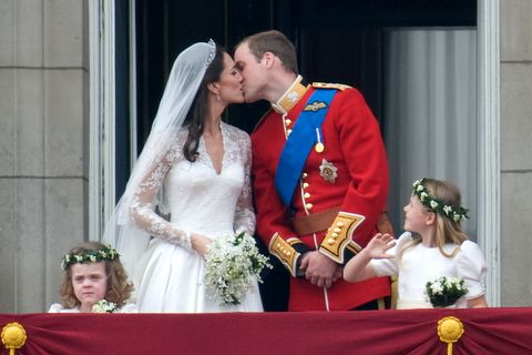 Getty Images Despite Straying From Royal Protocol The S Wedding