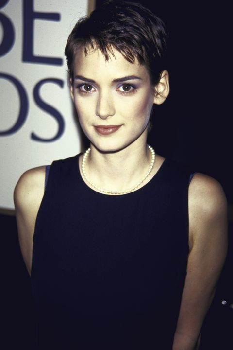Winona Ryder At Golden Globes