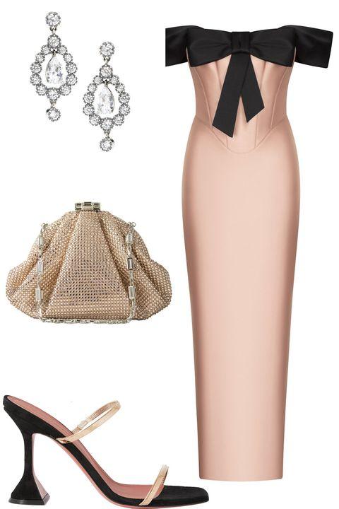 what wear winter wedding – pink winter wedding guest outfit ideas
