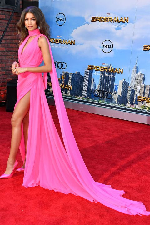 Zendaya Looks Like A Barbie At Spider Man Premiere
