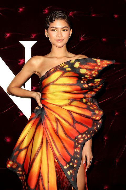 Zendaya Moschino Butterfly Dress Zendaya Butterfly Dress