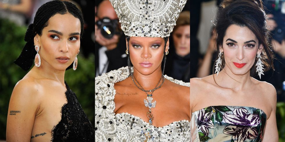 The Best Jewels From The Met Gala 2018 Red Carpet