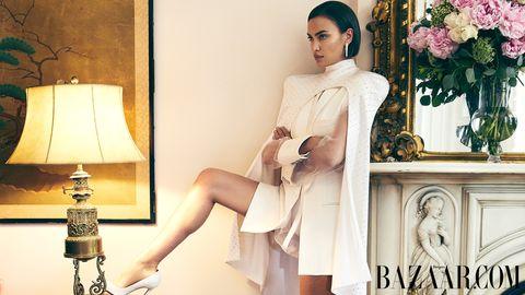 White, Clothing, Beauty, Skin, Fashion model, Fashion, Leg, Dress, Photo shoot, Photography,