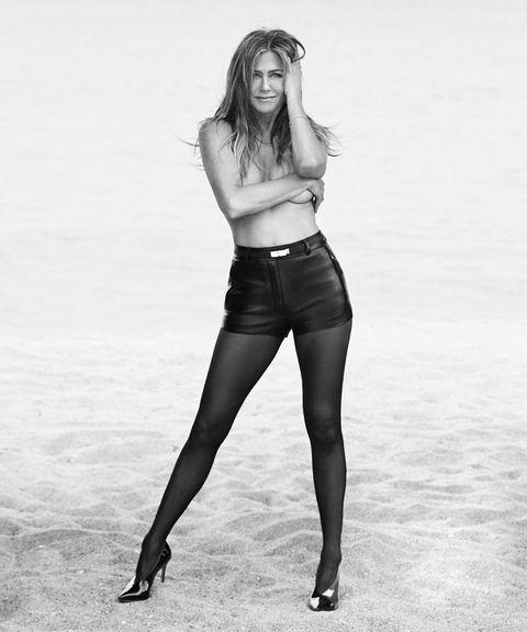 White, Black, Clothing, Leg, Beauty, Tights, Black-and-white, Standing, Model, Fashion model,