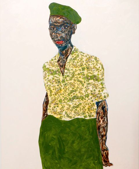 amoako boafo's green beret, 2019