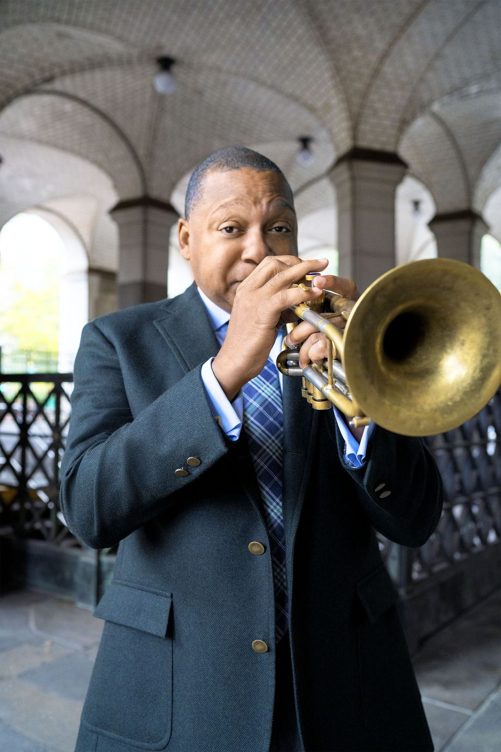 Wynton Marsalis Is the Musical Director for Our December/January Issue