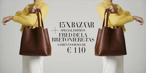 Cadeau Bij Een Abonnement Een Fred De La Bretoniere Tas