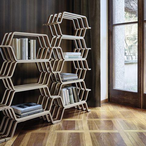 MHC.2 wooden bookshelf