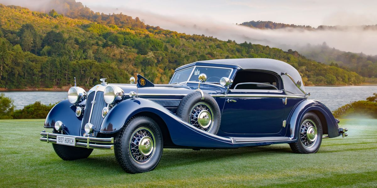 Why Does This Horch 853 Sports Cabriolet Keep Winning Everything?