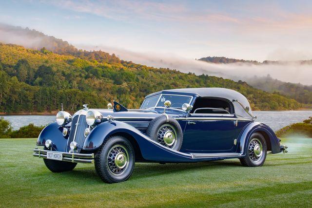 1937 horch 853 sport cabriolet