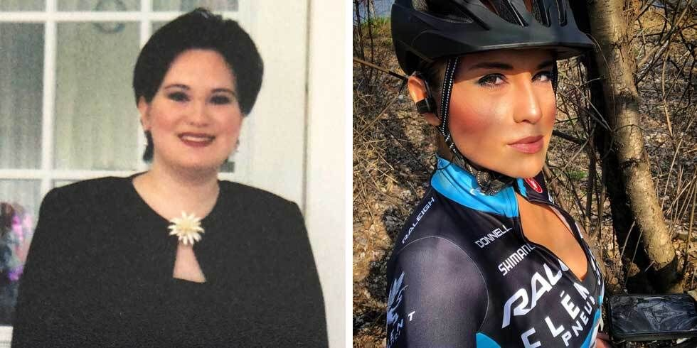 On-the-Bike HIIT Workouts Helped This Cyclist Lose 75 Pounds